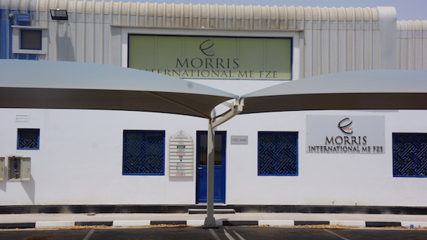 Morris International ME FZE Moves to New Location