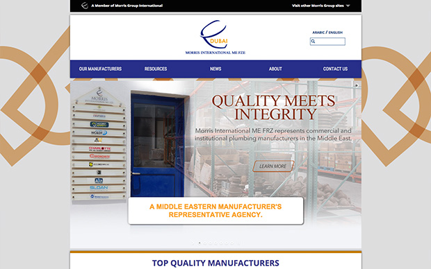 Morris International ME FZE Releases Website